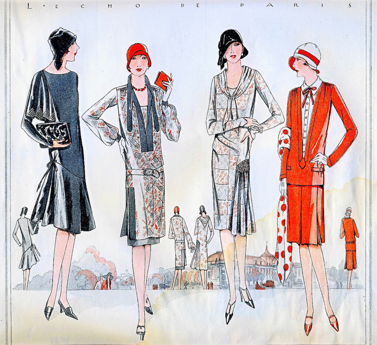The Origin & History of the 1920s Flapper Dress