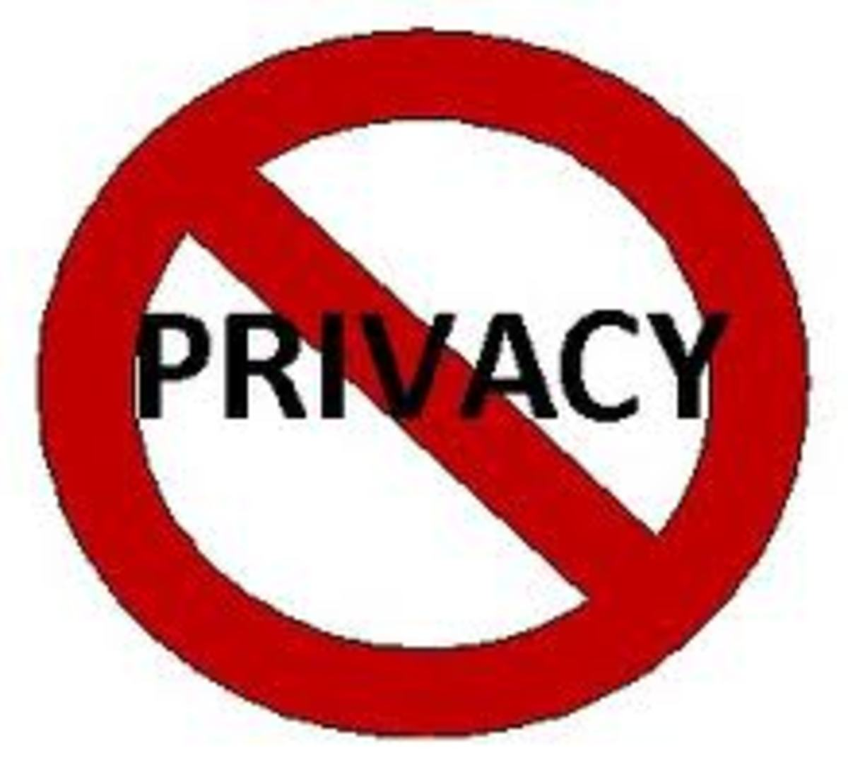 Privacy? Alone time? A total foreign concept in large&very large families.Children in such families live in congested and crowded environments.The ONLY time they have privacy in the sense of the word is when THEY are AWAY from home.........