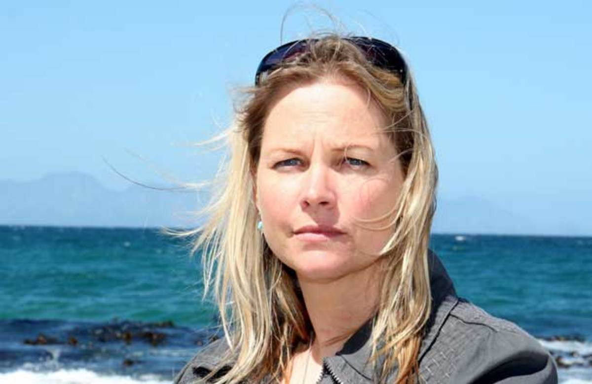 Alison Kock, marine biologist