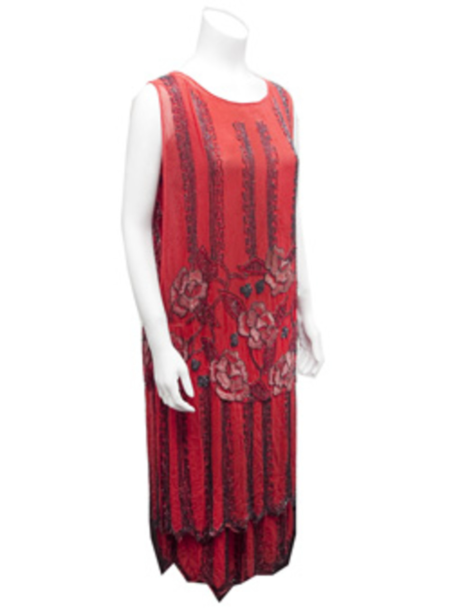 Original Beaded Flapper Dress