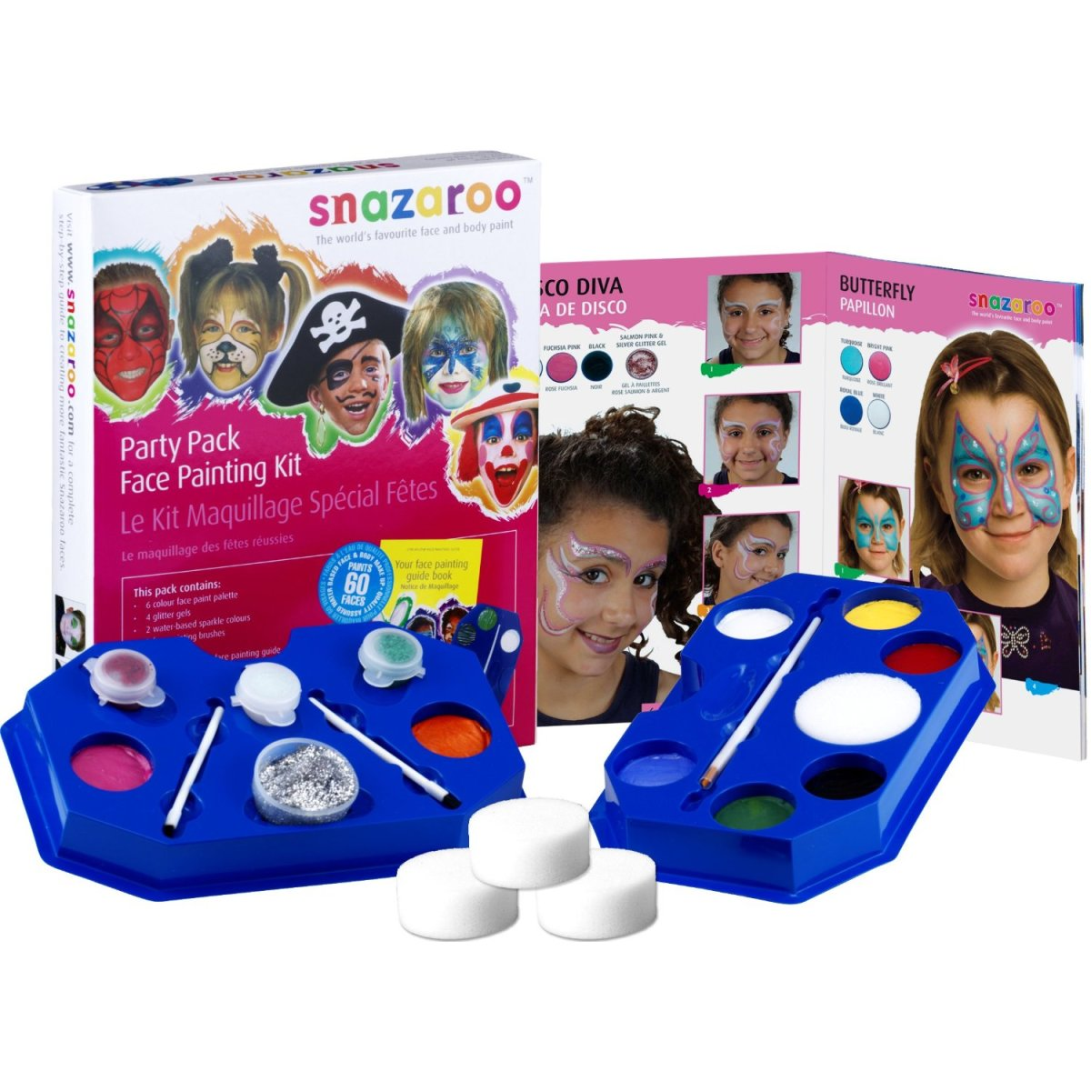 Kids Face Painting Kit for Halloween and Theme Parties All Year Round