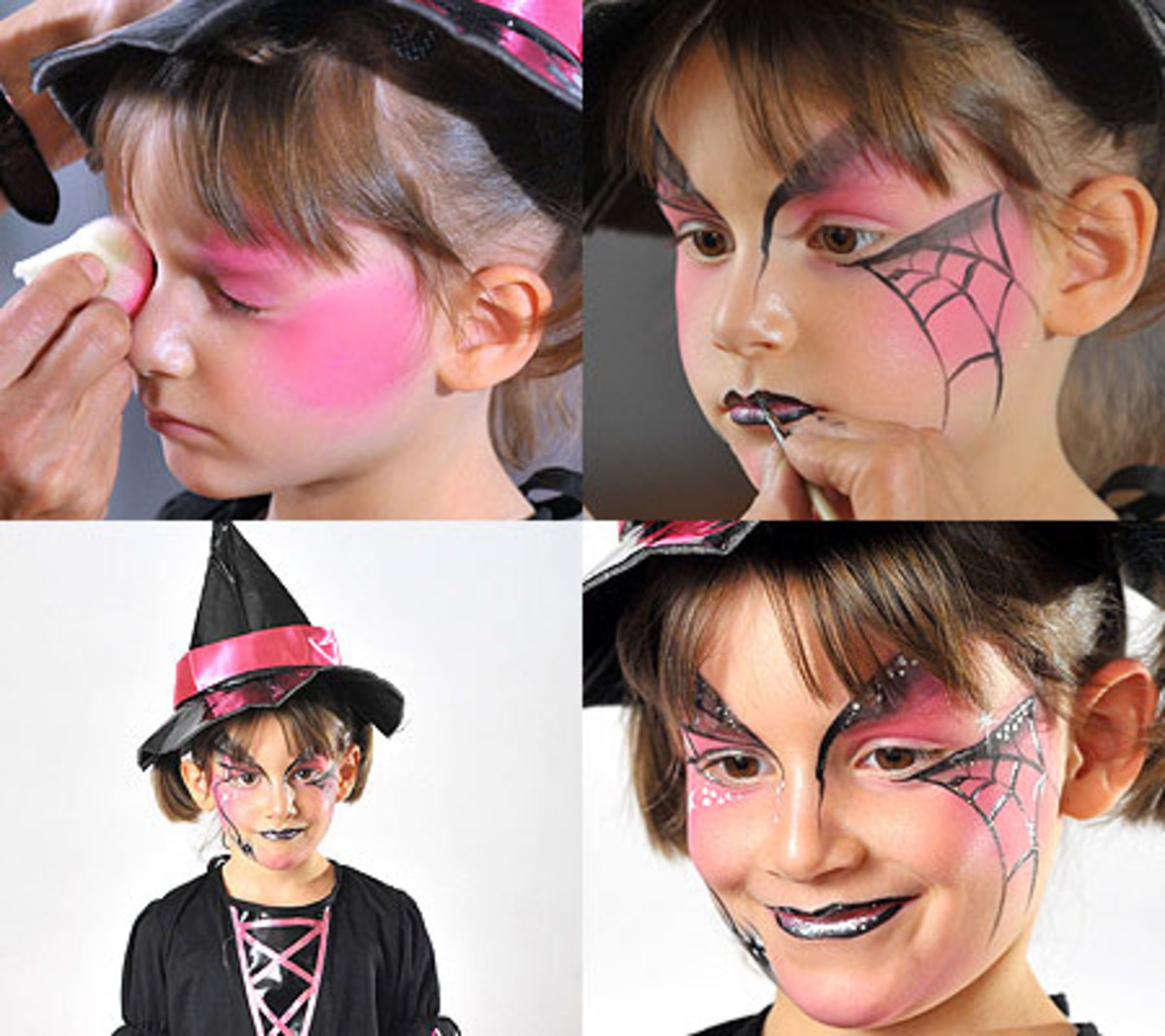 Use pretty colors for your witch- they dont all have to be ugly and green witches on all souls night!