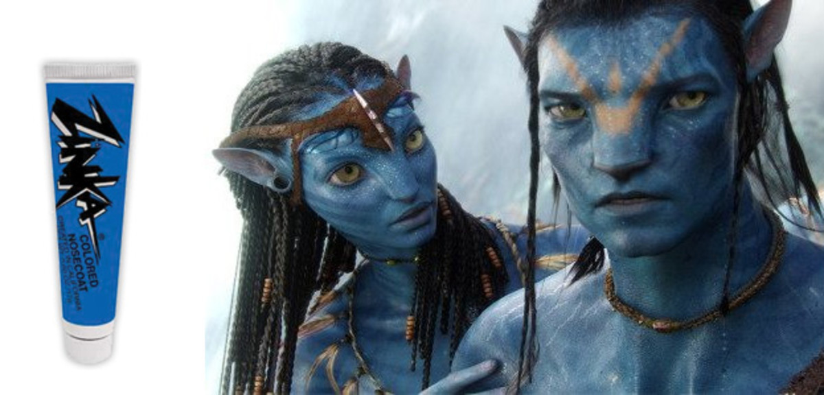 Easy to create the Na'vi people from the Hit Movie Avatar