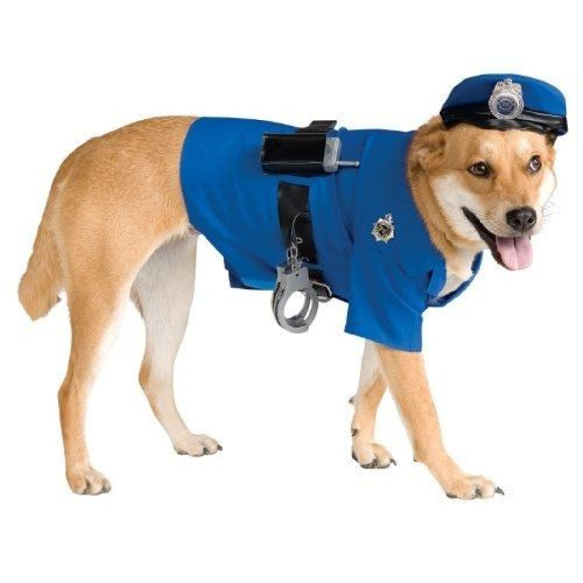Police Dog Pet Costume, Large