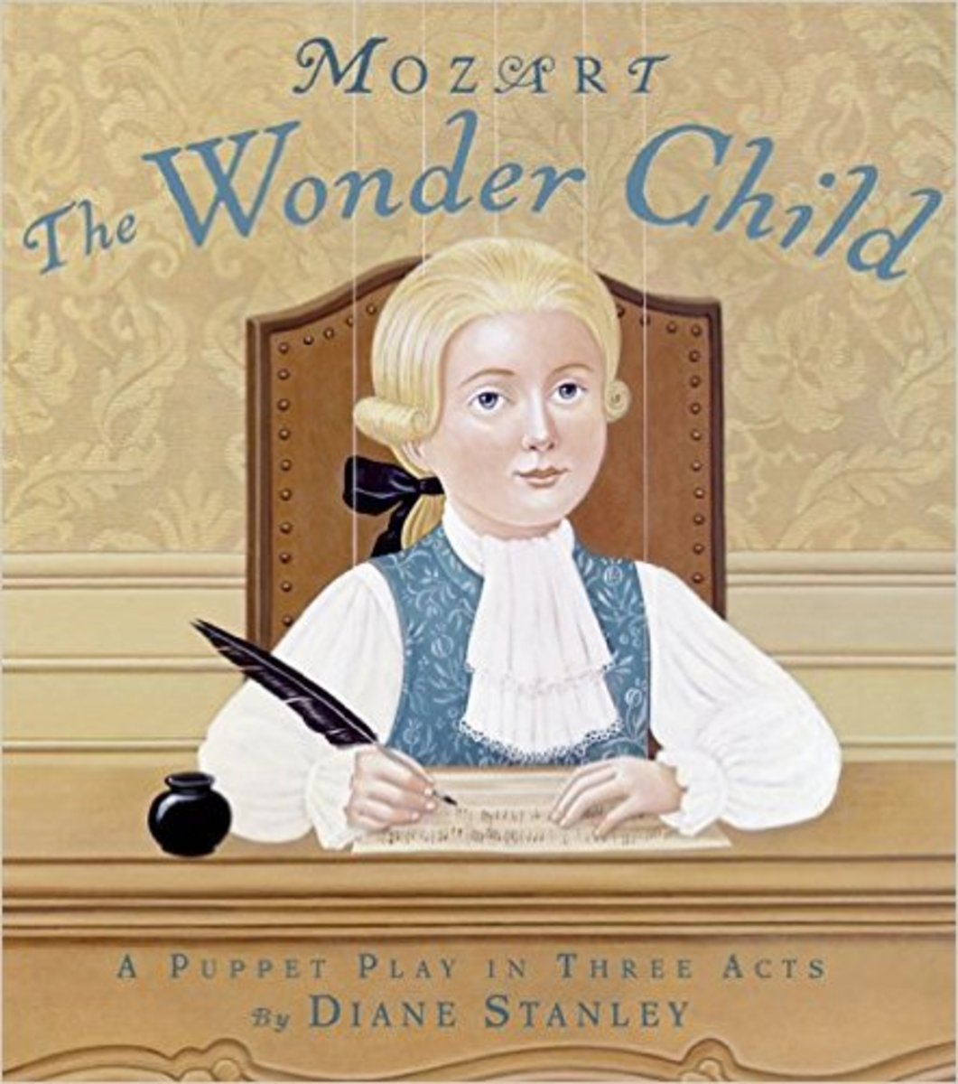 Mozart: The Wonder Child: A Puppet Play in Three Acts by Diane Stanley - Image credit: amazon.com