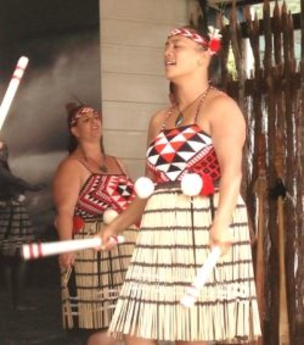 Play the Girl Scout Maori Stick Game