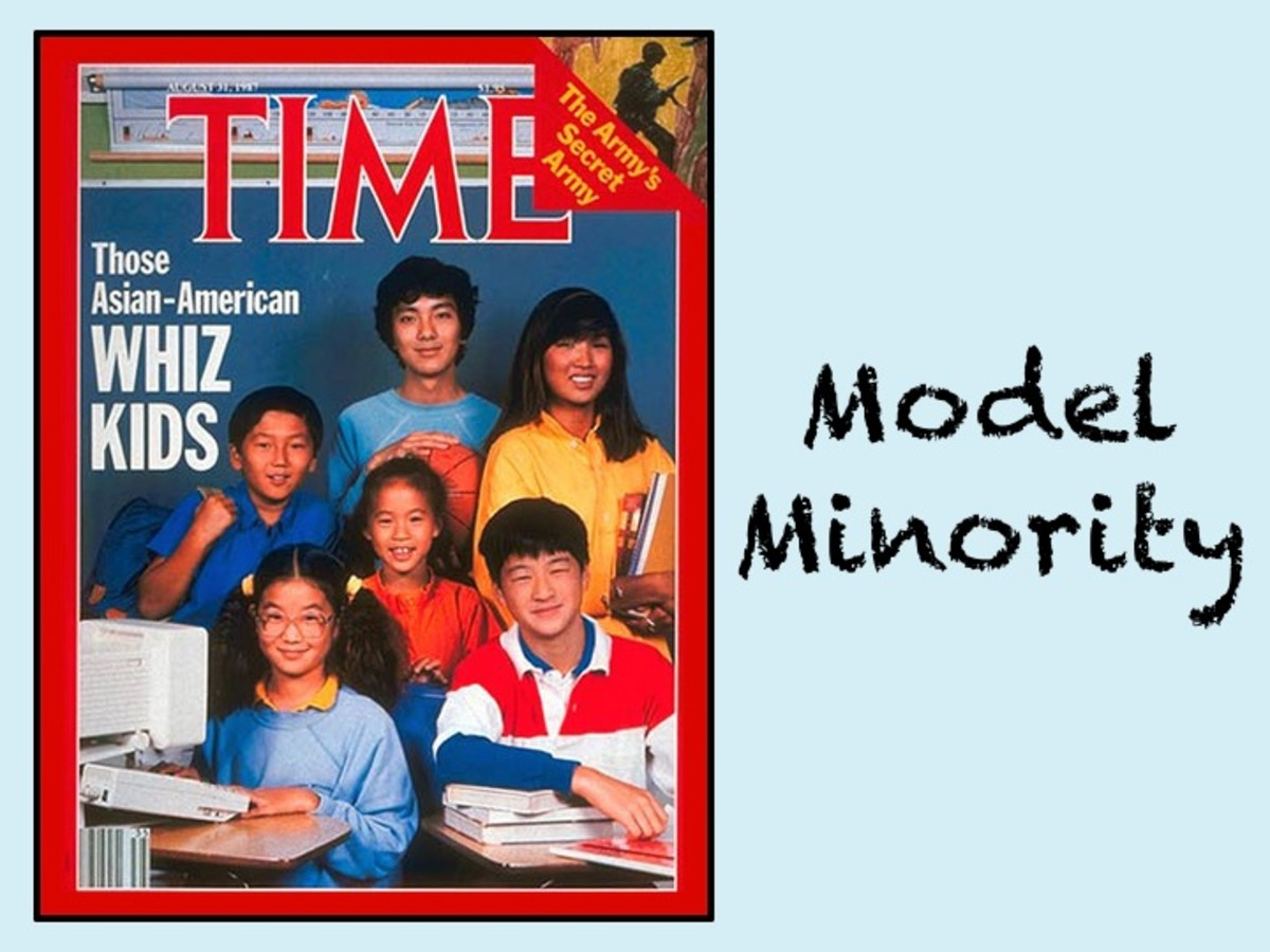 Asains as the model minority
