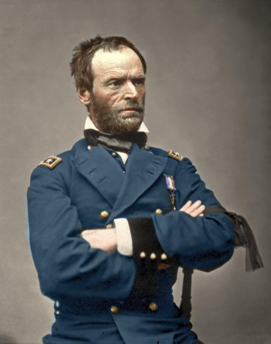 Major General William Tecumseh Sherman - U.S. Army