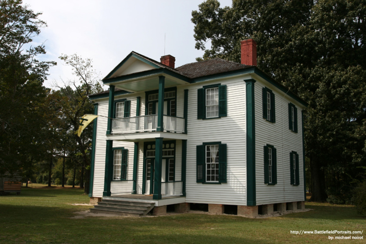 Harper House - served as Union field hospital