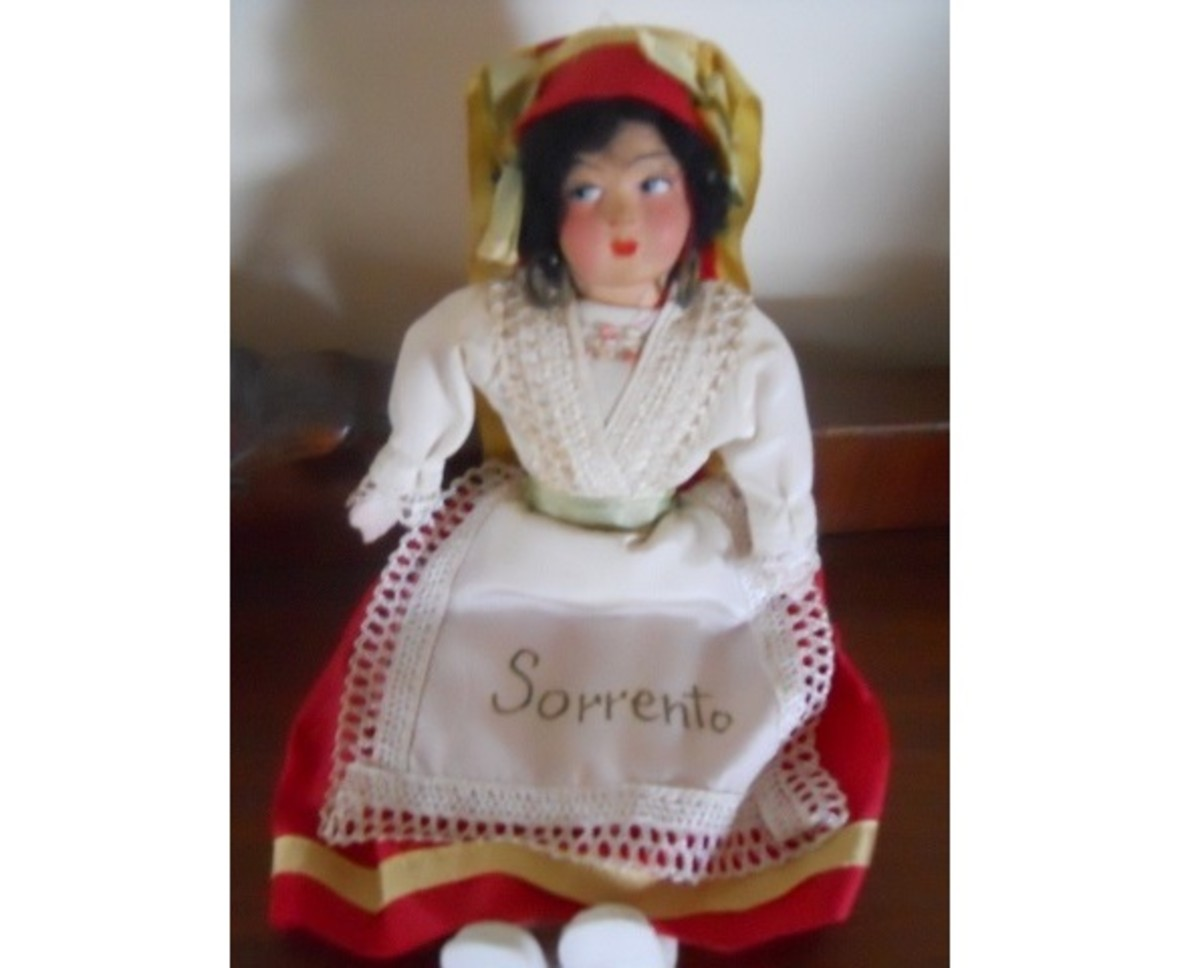 Italian Doll From Sorrento