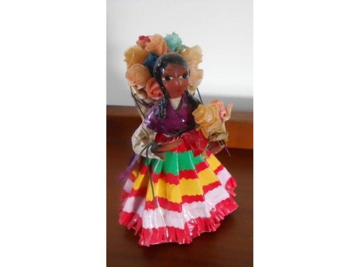 Mexican Doll Made of Paper
