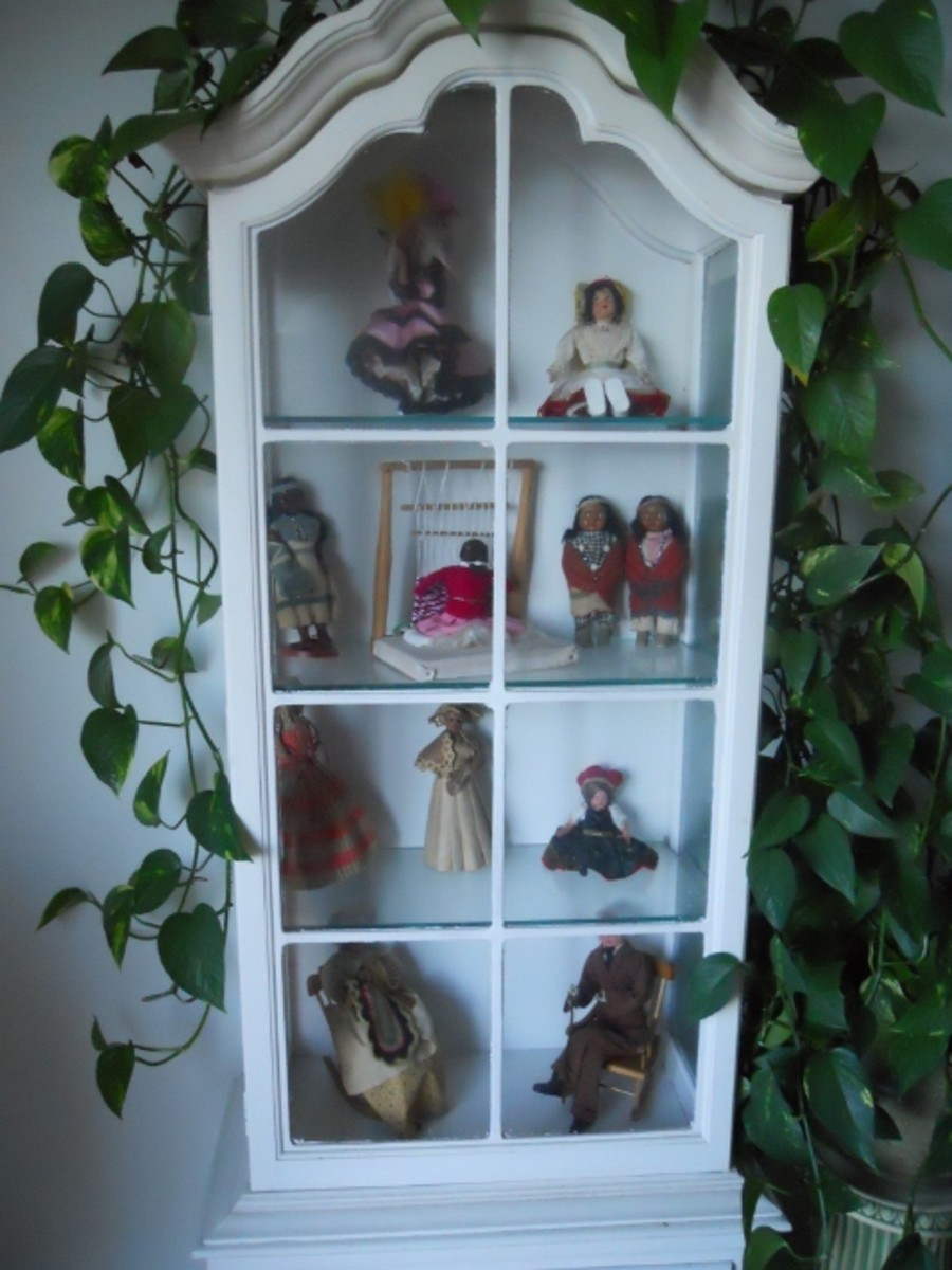My Vintage International Doll Collection