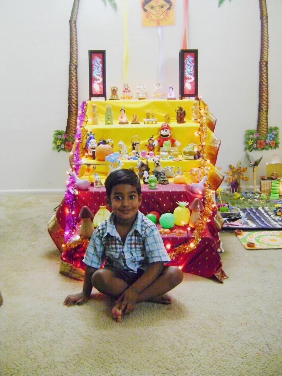 Navaratri Golu in America