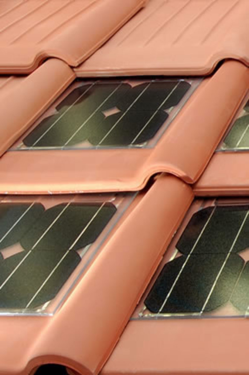 Solar Integrated Tile Roofs