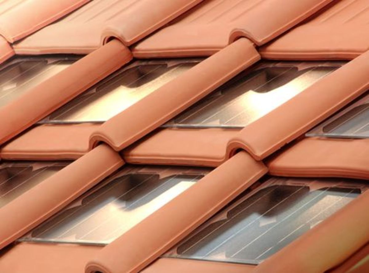 Clay Tiles Integrated with Solar