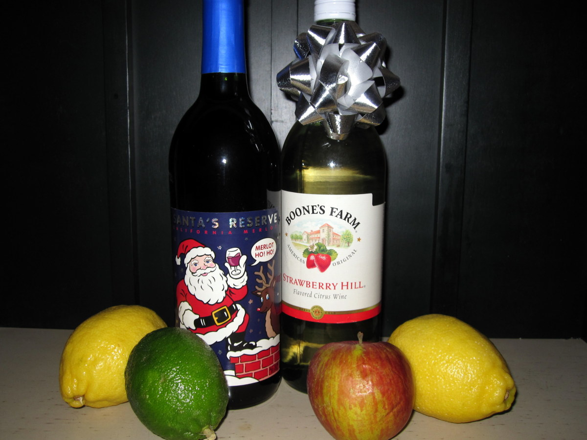 Not sure about that bottle of wine Cousin Charlie gave you for Christmas?  Turn it into sangria.