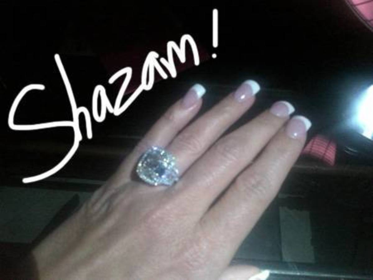 The Infamous Engagement Ring She was Given By Big Poppa - Even Though He was Married