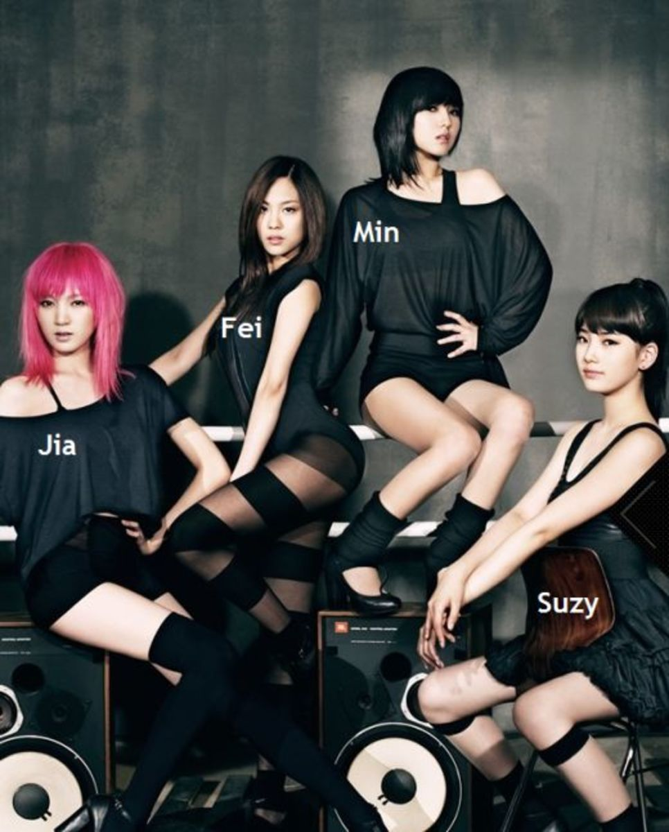 Miss-A group Wallpaper