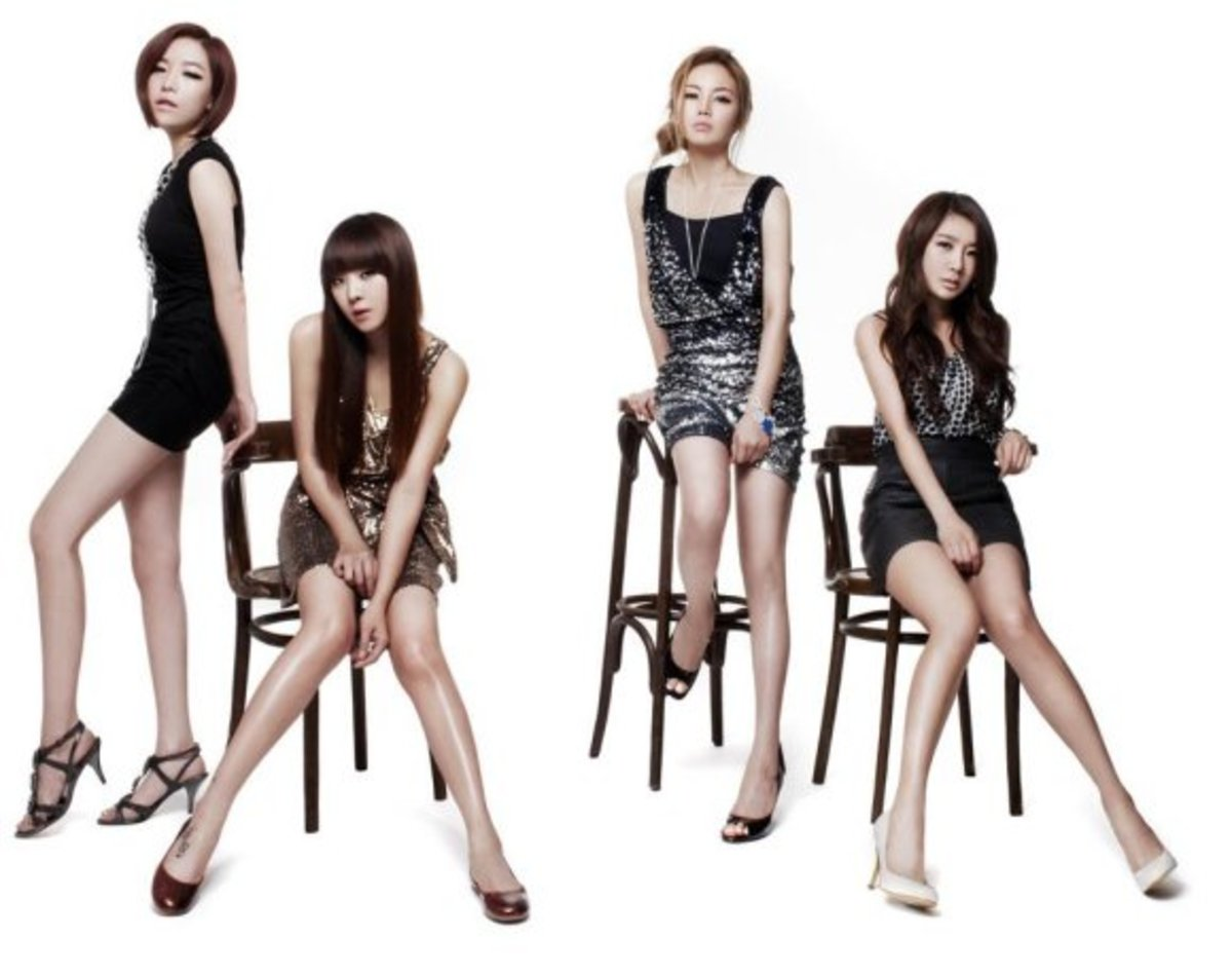 Brown Eyed Girls Wallpaper
