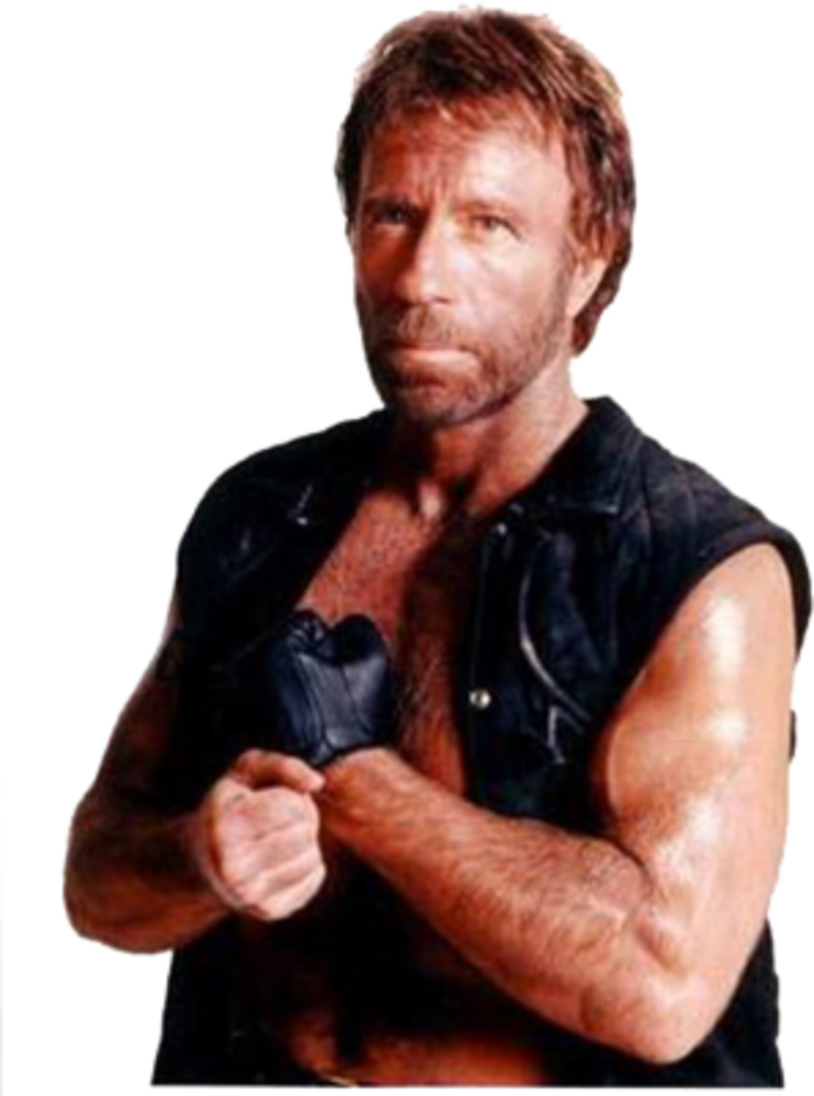 Chuck Norris.. calling for you!