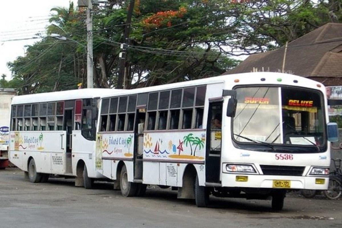 Island City Express Bus