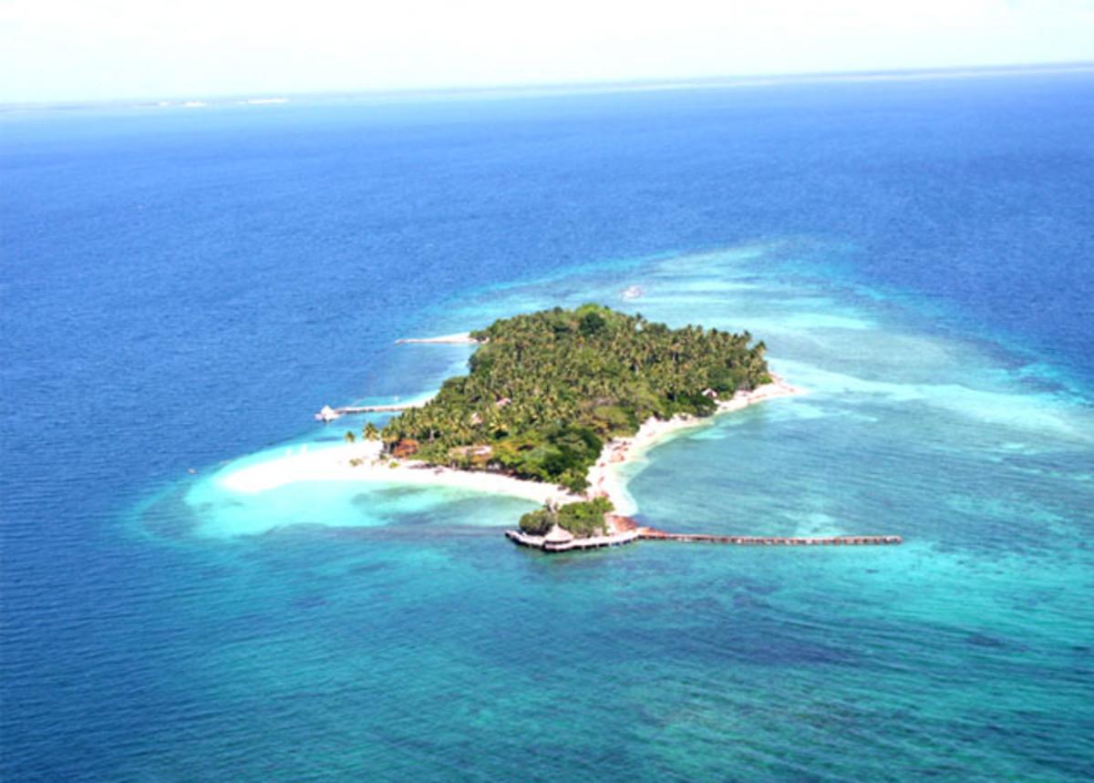 Top view of Buenavista Island Resort