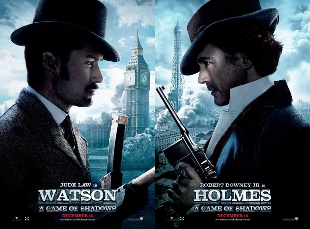 Sherlock Holmes - A Game of Shadows (2011) poster