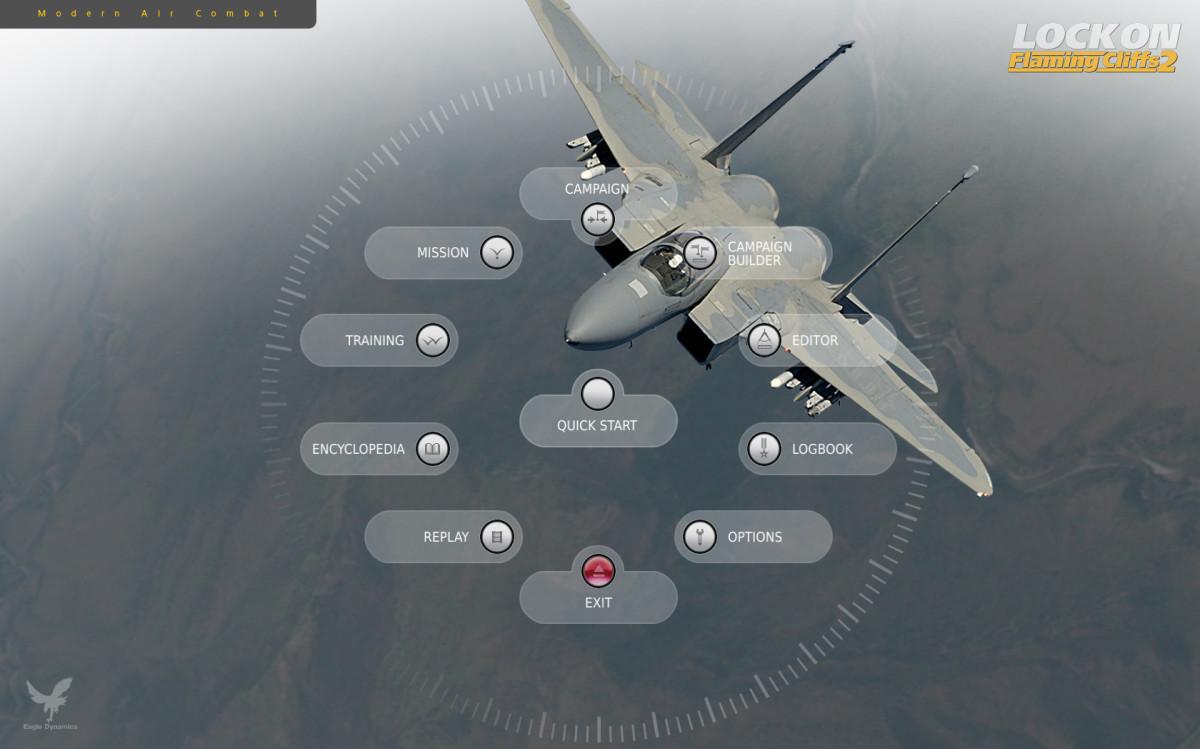 lock on modern air combat flaming cliffs 2 flight simulator review for pc. Black Bedroom Furniture Sets. Home Design Ideas