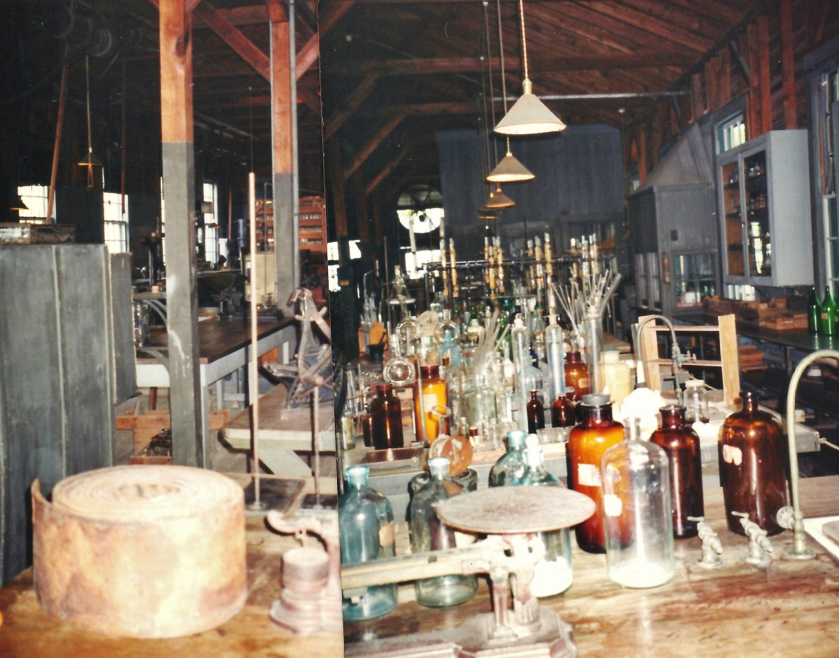 Edison lab in Fort Myers, Florida