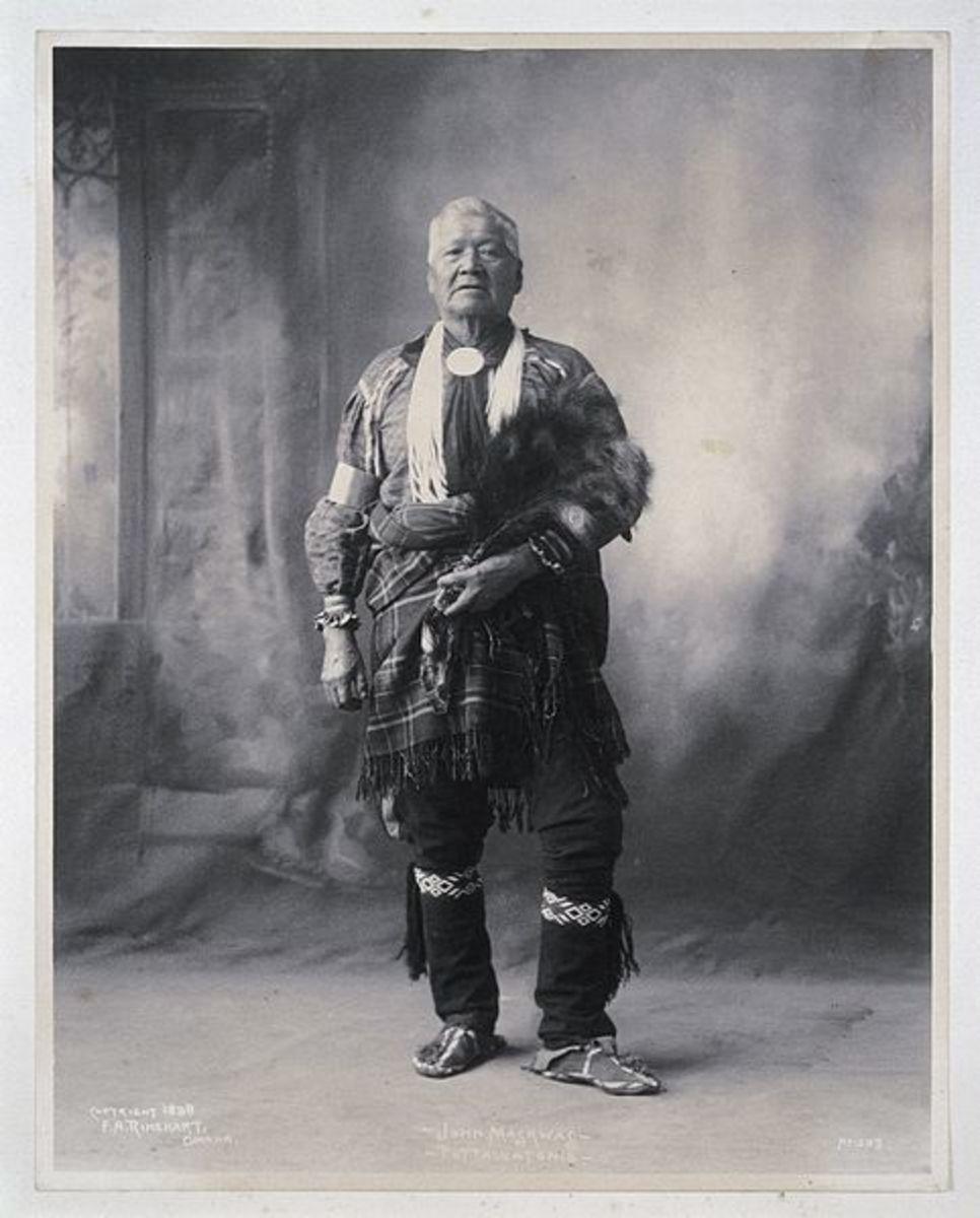 John Maskwas, a Potawatomi.