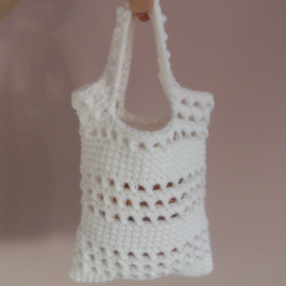 Small Beginner Crochet Bag