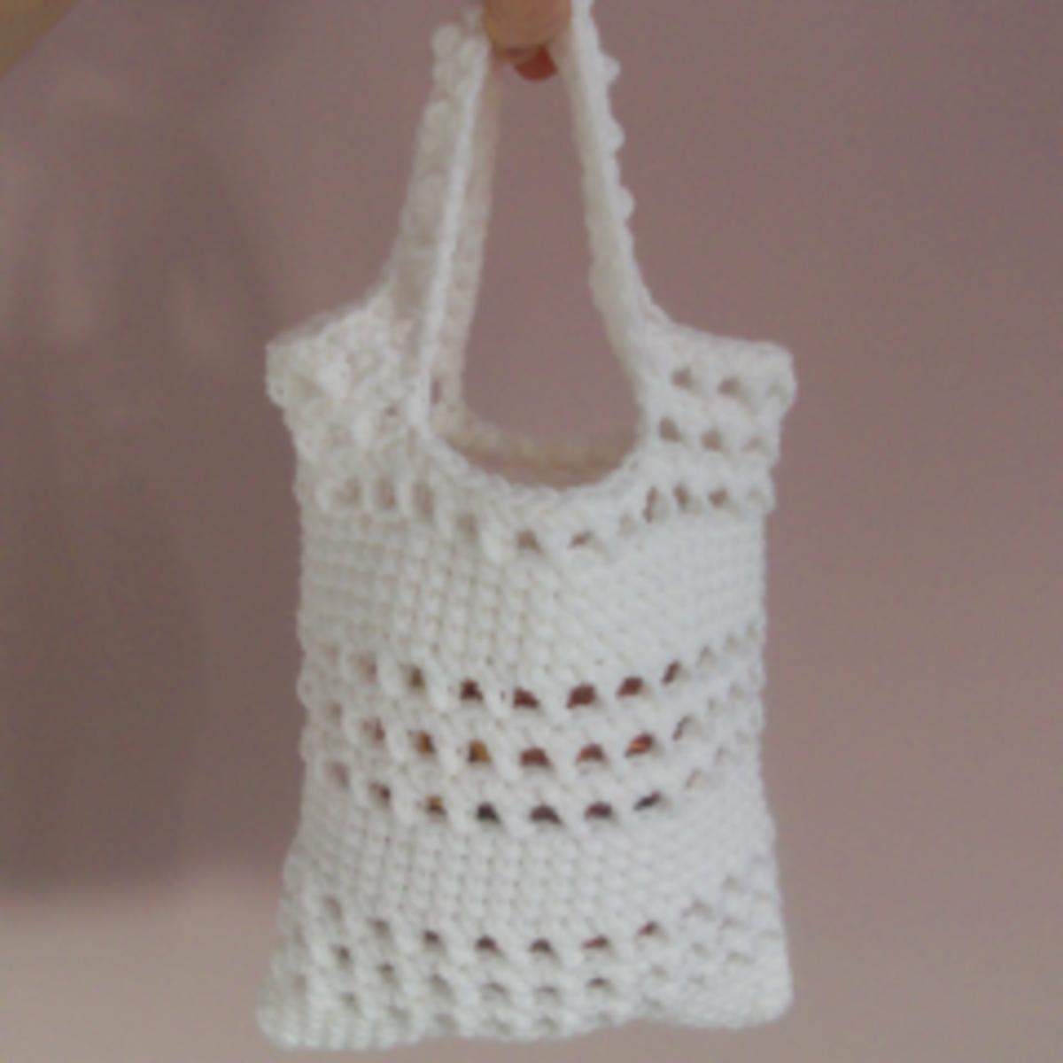 Crochet Bags For Beginners : Free Beginner Crochet Patterns