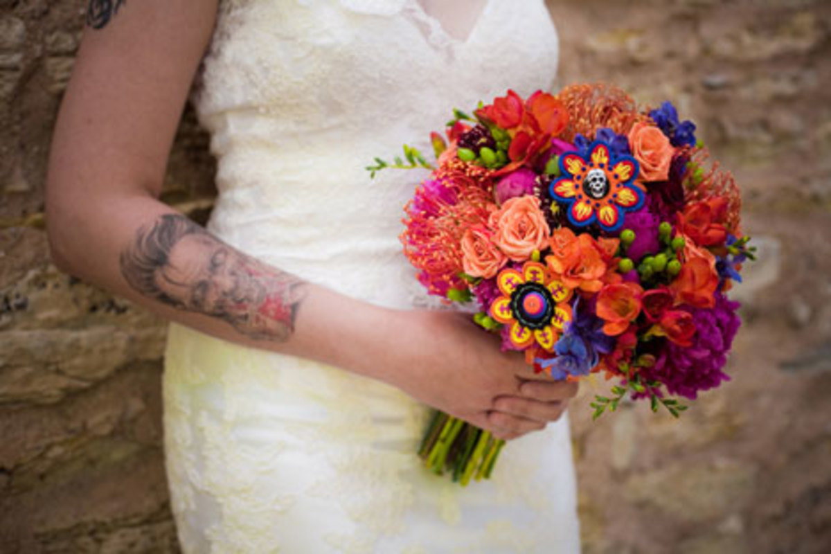 Day of The Dead or Cinco De Mayo Themed Wedding For The ...