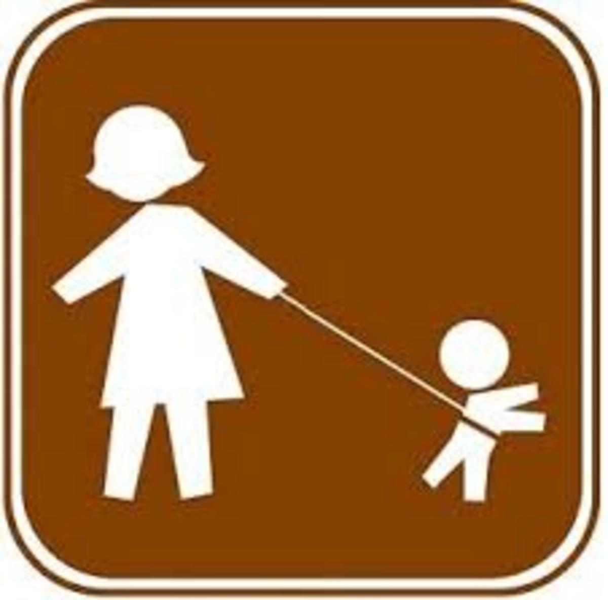 Such parents can be classified as OVERCONTROLLING.They believe that they must be in charge 24/7/365 and 100% of the time regarding child rearing.
