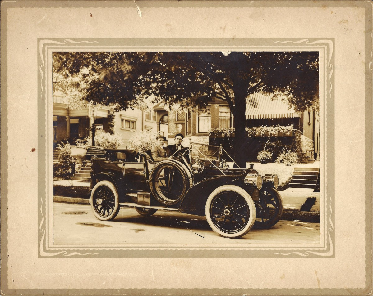 Packard Chauffeur School to WW 1 Airplanes + Recommendation Letters regarding My Grandfather
