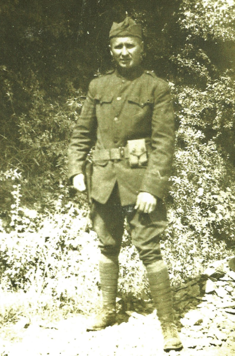 My paternal grandfather during WW1