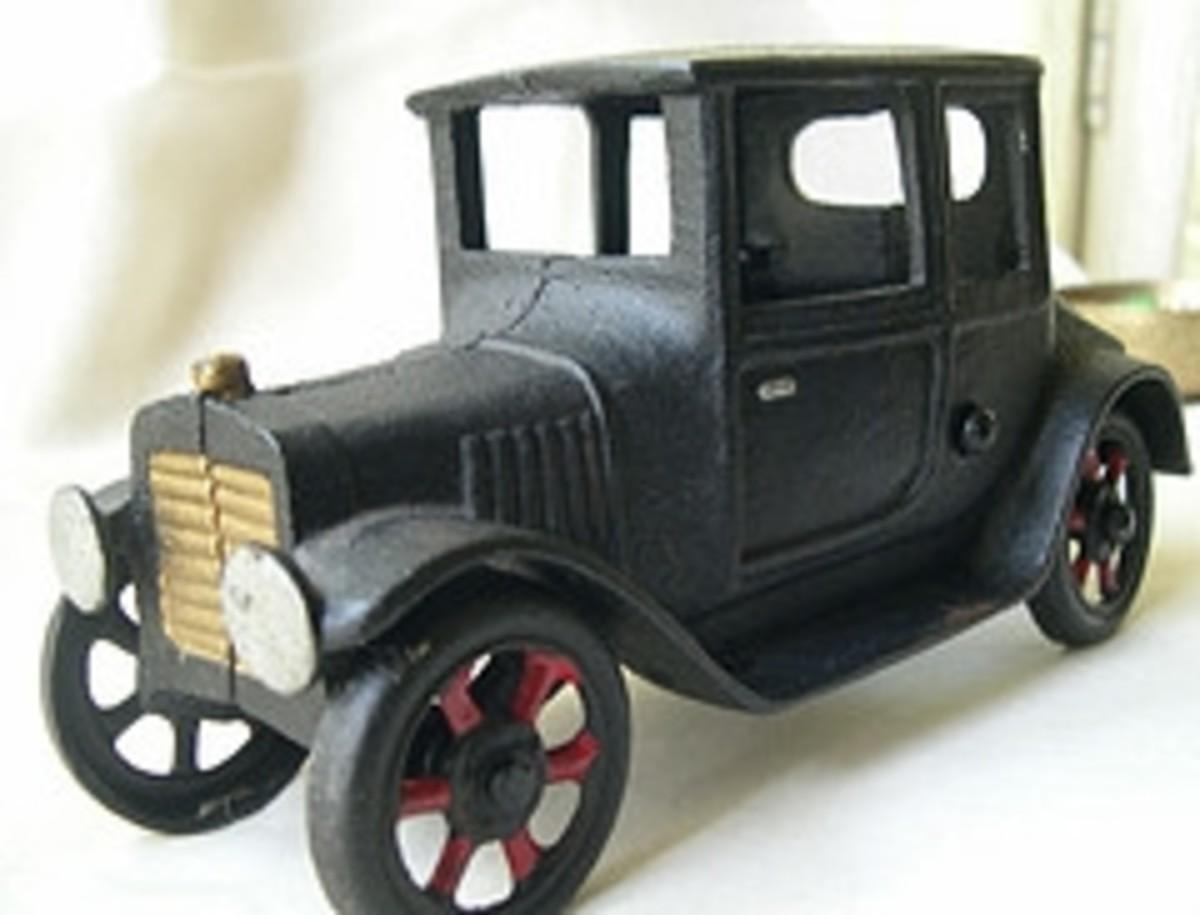 Antique Cast Iron Toys