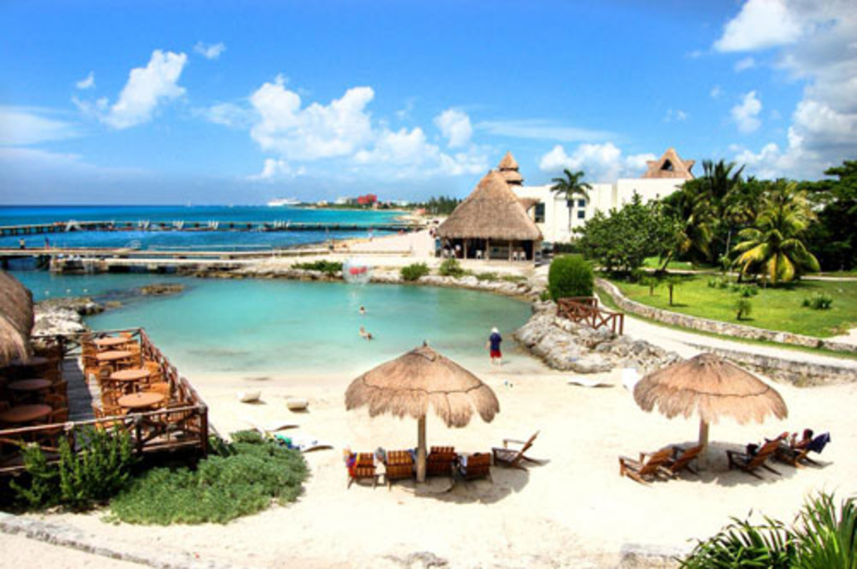 Chankanaab Park at Cozumel, a popular Cozumel shore excursion.