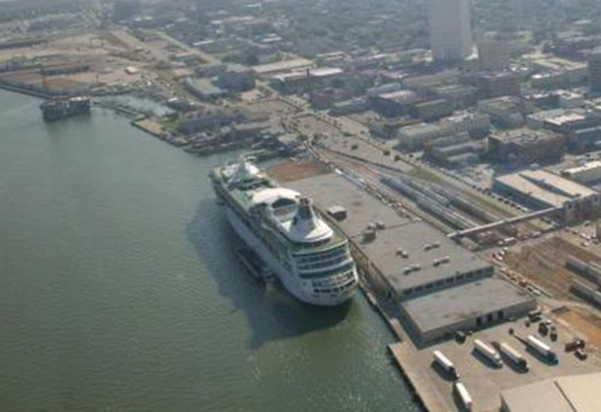 Galveston cruise terminal 1