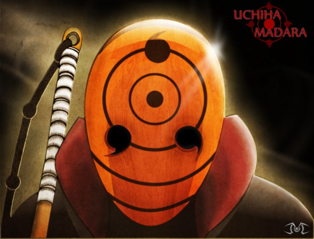 Uchiha Madara's New Mask!