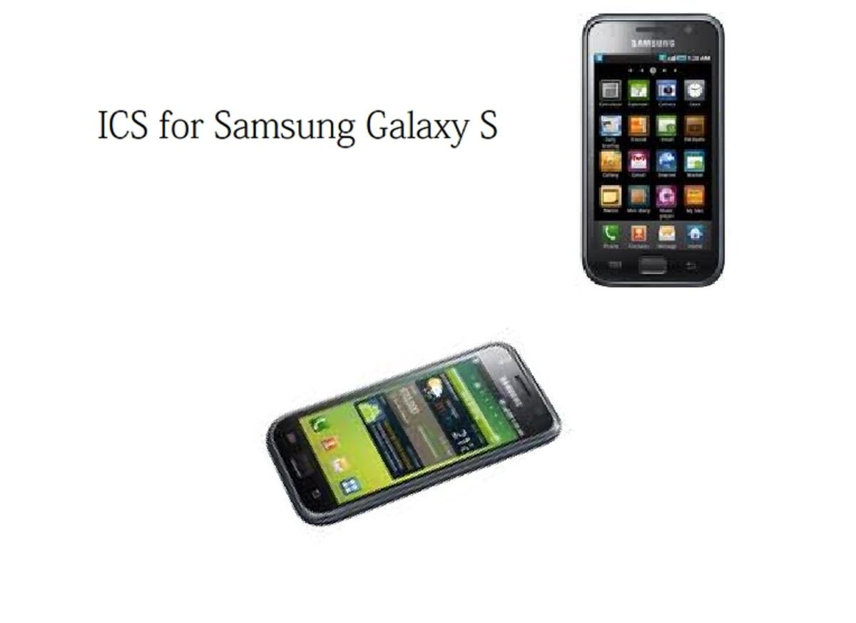 Samsung Galaxy S firmware update to Android 4.0 aka Ice Cream Sandwich
