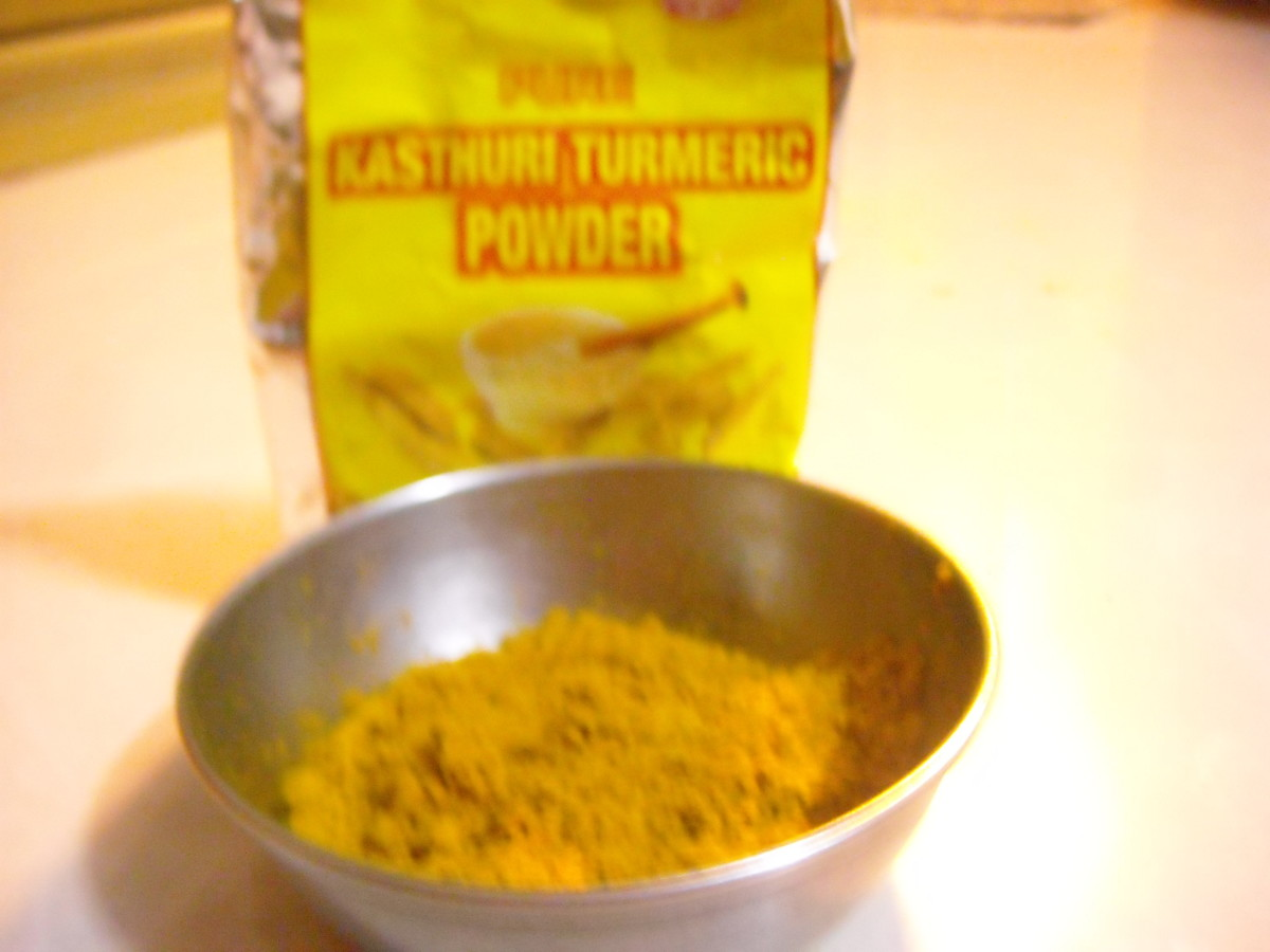 Kasturimanjal powder
