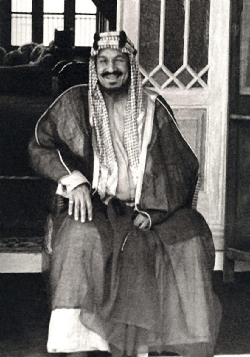 King Abdul-Aziz of Saudi Arabia