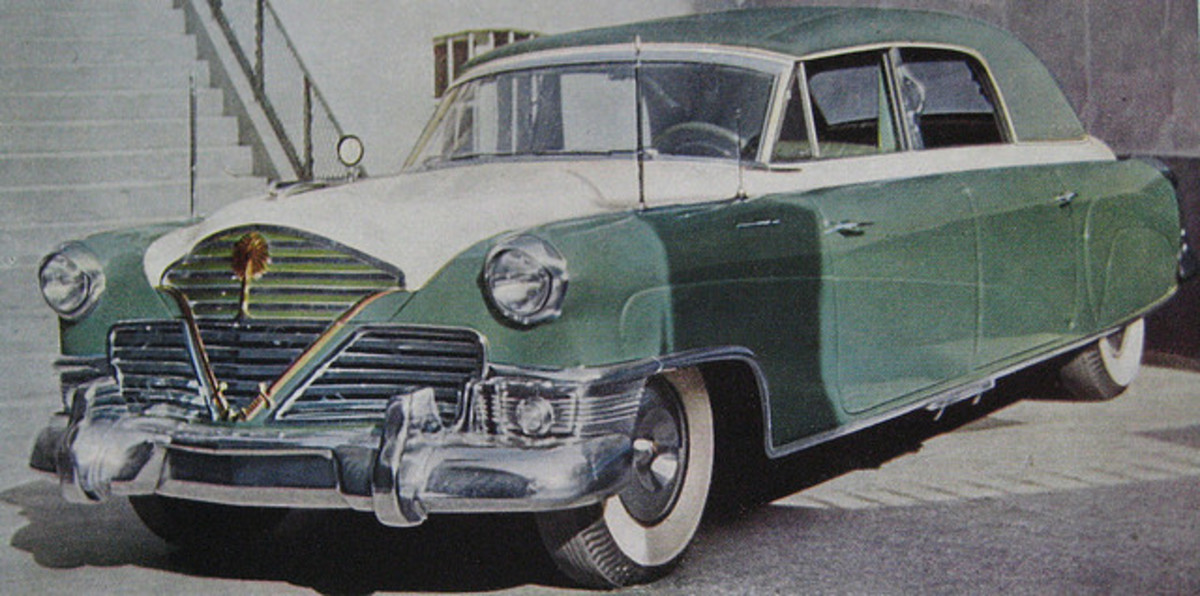 Customized 53 Cadillac for King Saud.