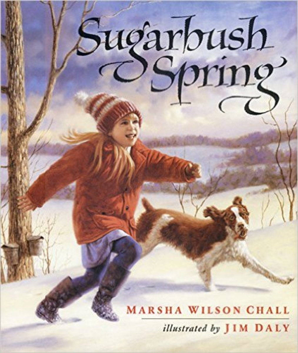 Sugarbush Spring by Marsha Wilson Chall