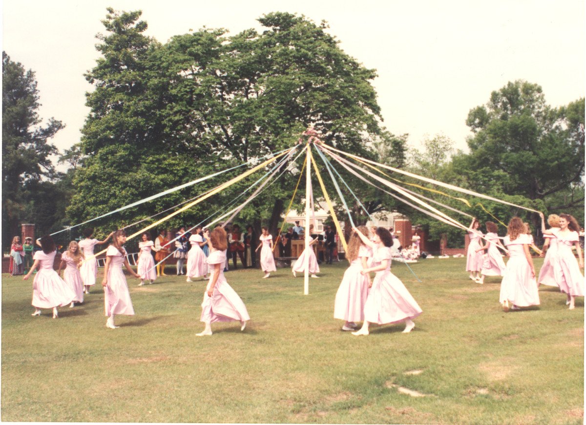 Learn about May Day and the Maypole during the month of May.