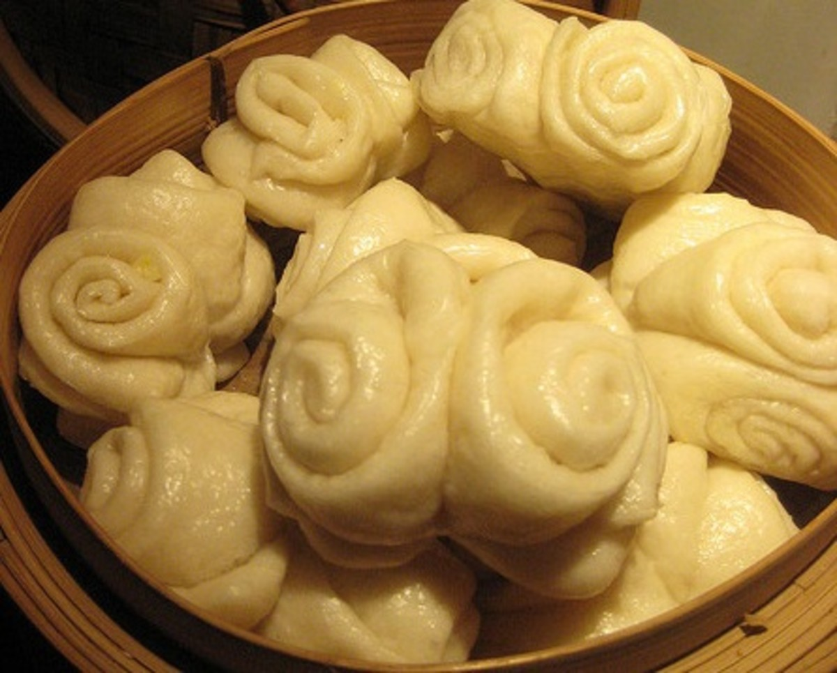 Beijing Flower Roll (Steamed Roll)
