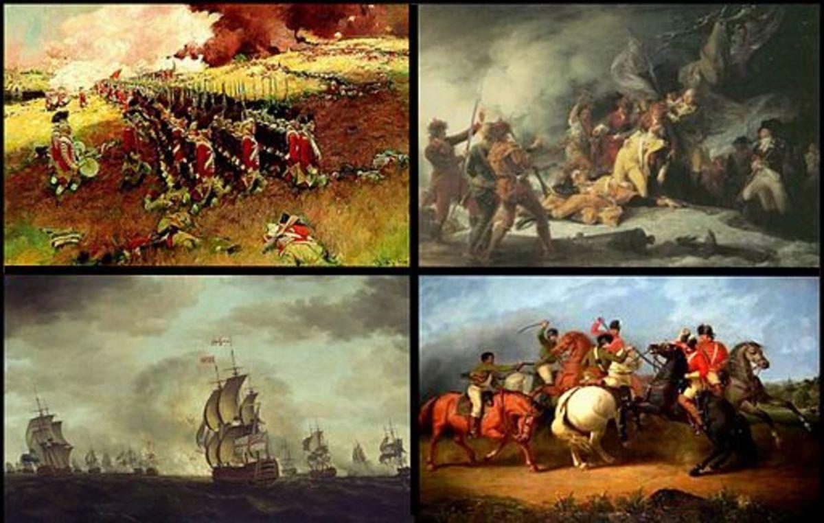 American Revolutionary War Collage