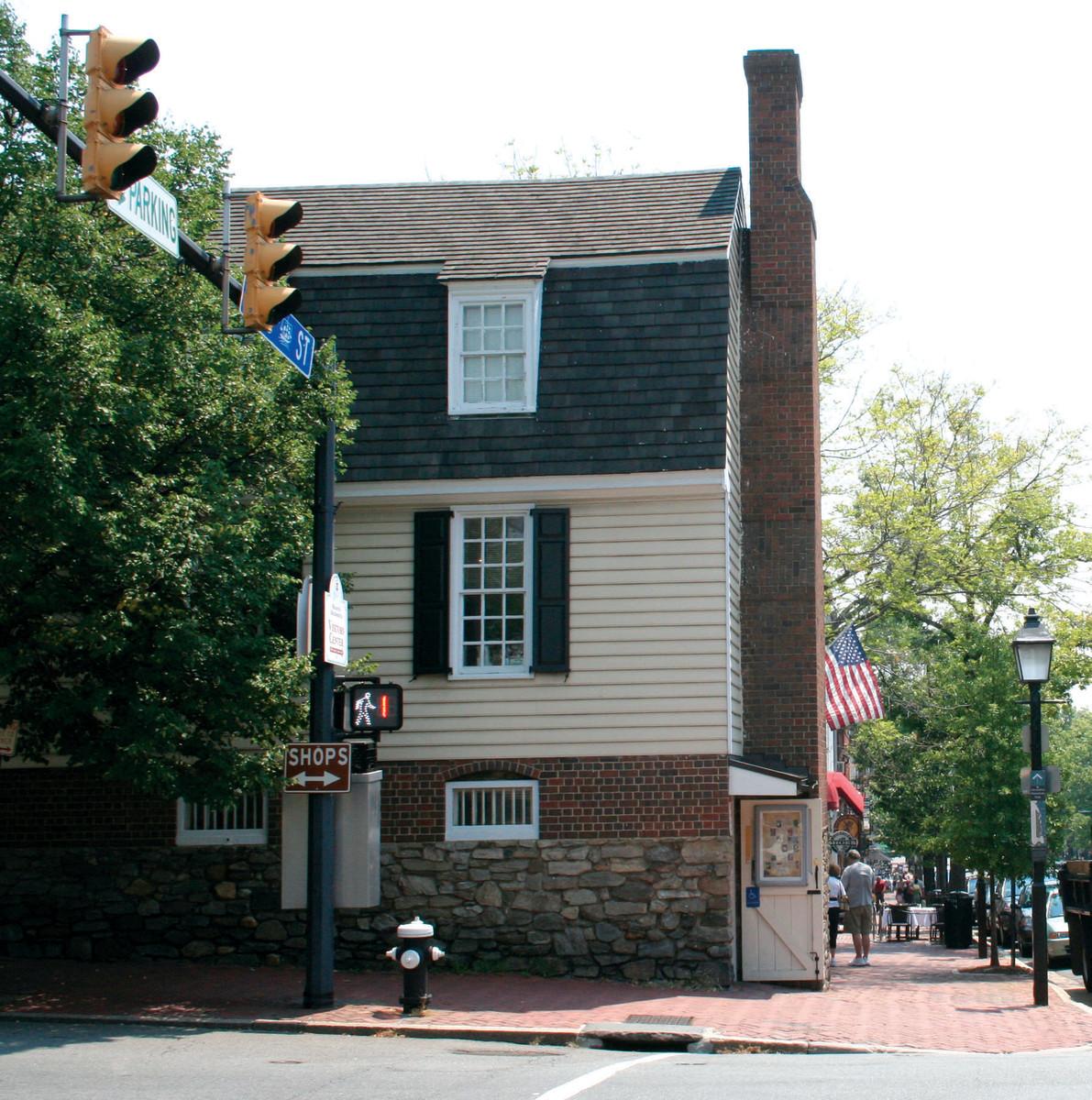 Ramsay House from North Fairfax Street.