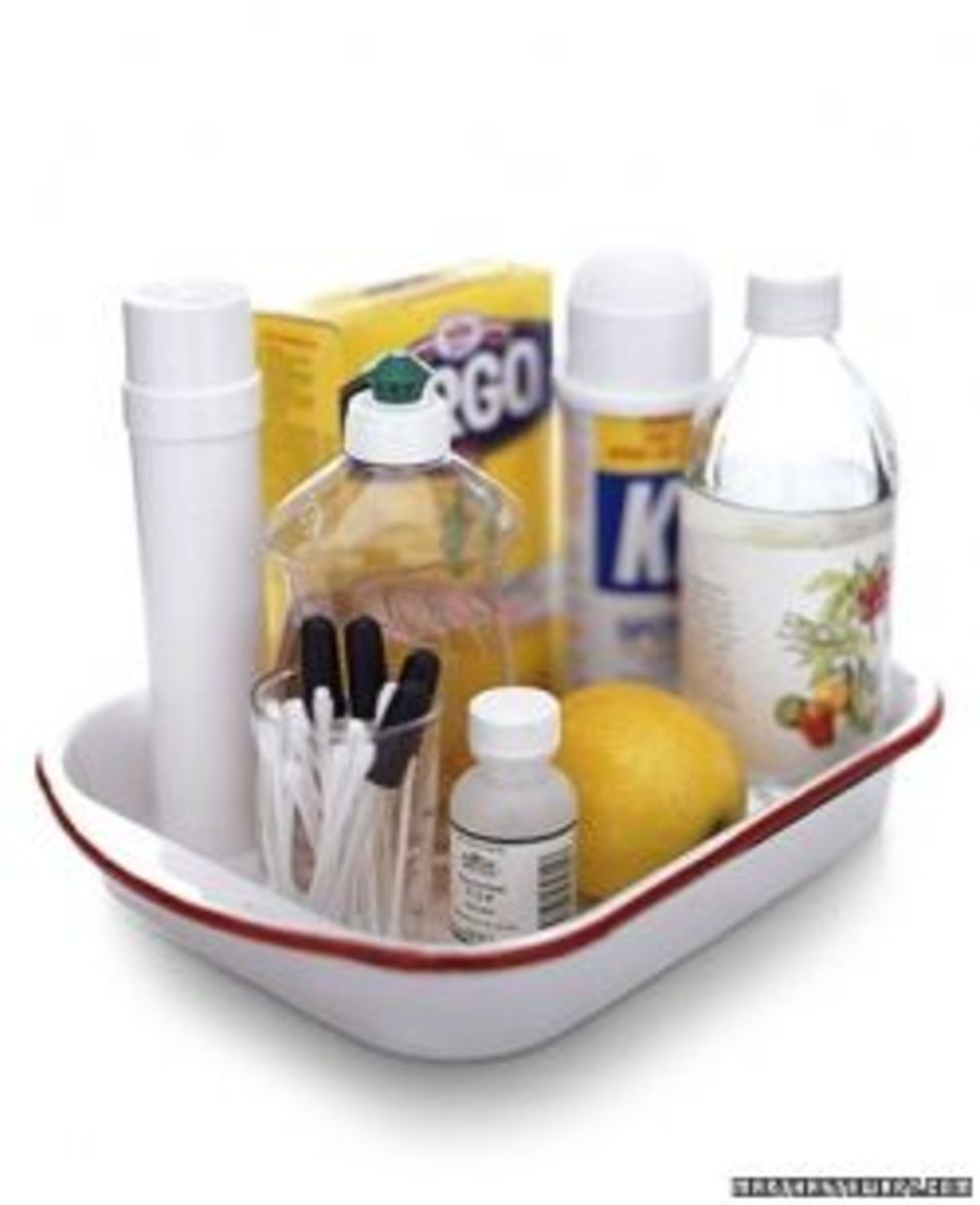 DIY Laundry Stain Removal Kit